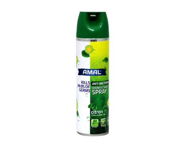 Antibacterial Disinfectant Spray AMAL Plus 400 ml