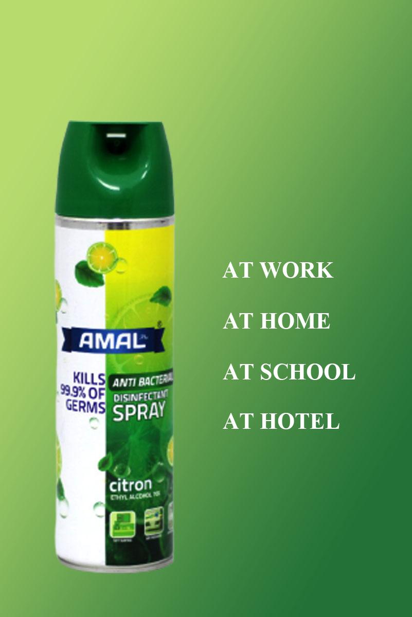 antibacterial disinfectant spray